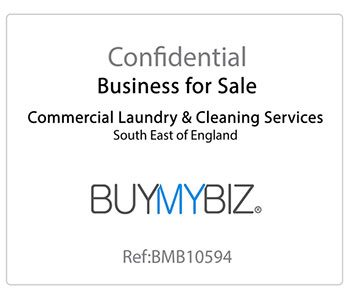 Commercial Laundry and Cleaning Services Business for Sale!
