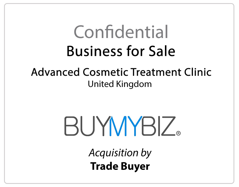 Advanced Cosmetic Treatment Clinic SOLD – BMB10543 Vexus Corporate Limited
