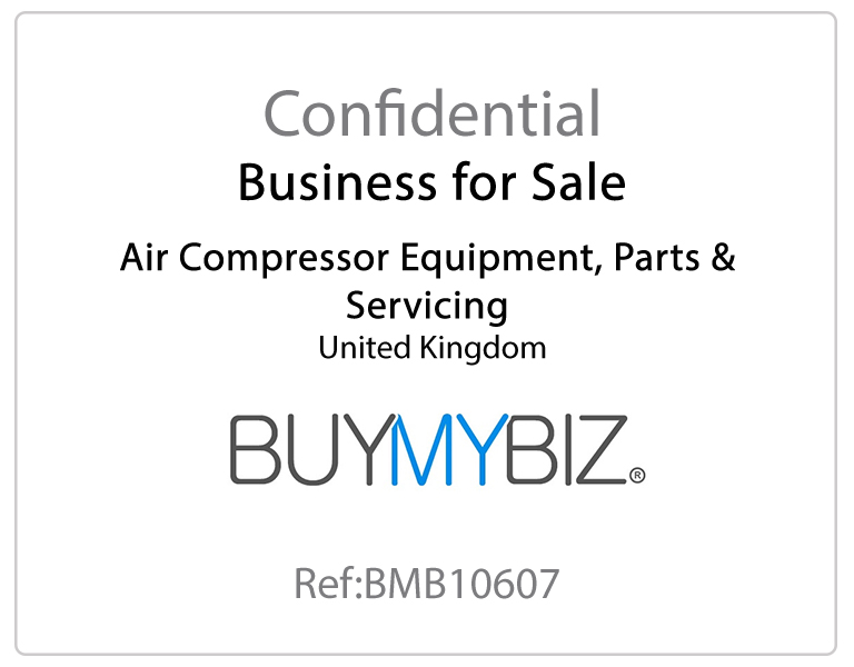 Air Compressor Equipment, Parts & Servicing Business for Sale – BMB10607 Vexus Corporate Limited