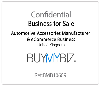 Automotive Accessories Manufacturer and eCommerce Business for Sale